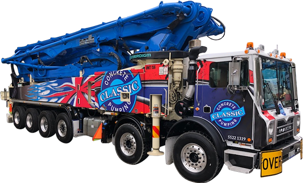Concrete Pump Truck | Concrete Services | Gold Coast | Classic Concrete Pumping | Everdigm 56rz 5